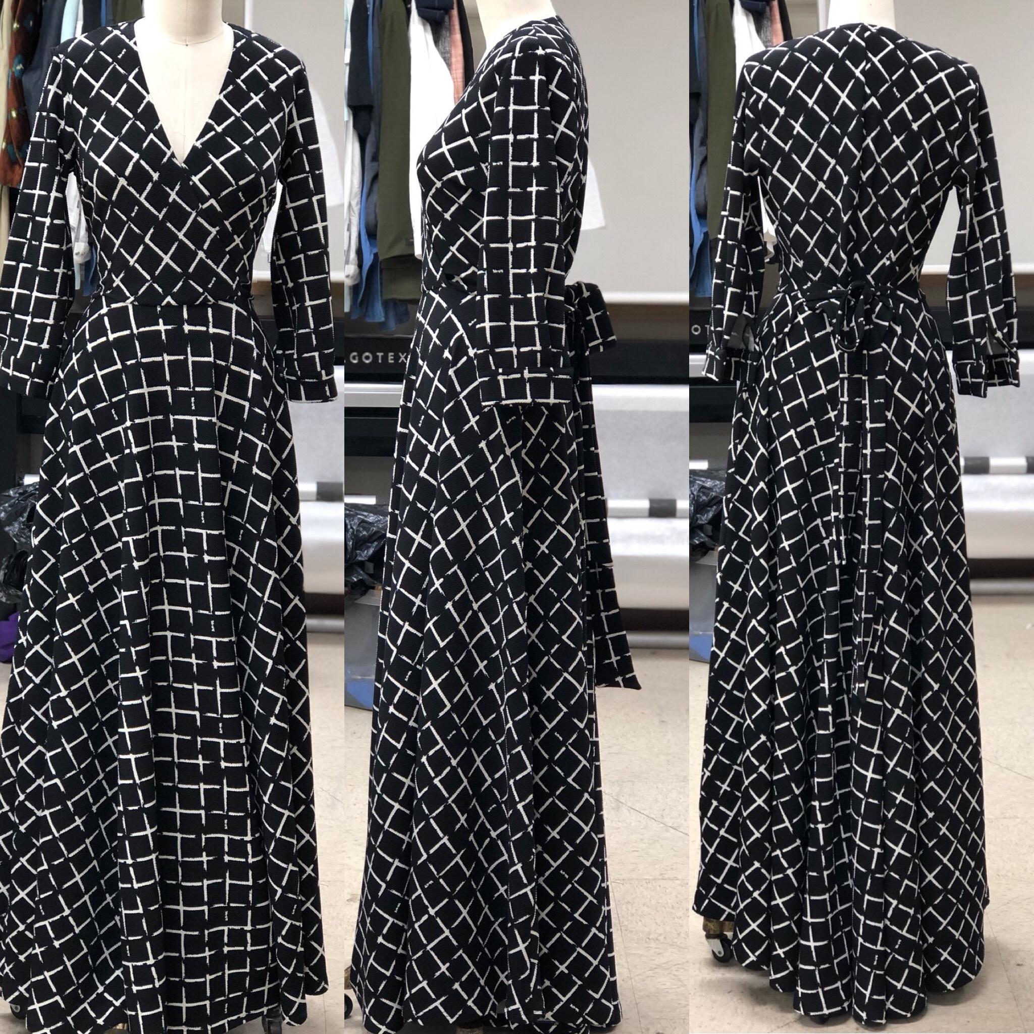 """2019"" Spring/Summer Dress Collection ""Victoria Dress"" fresh off the machine."