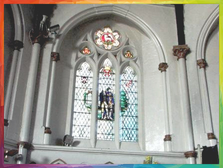 All Saints  Church Stained Glass