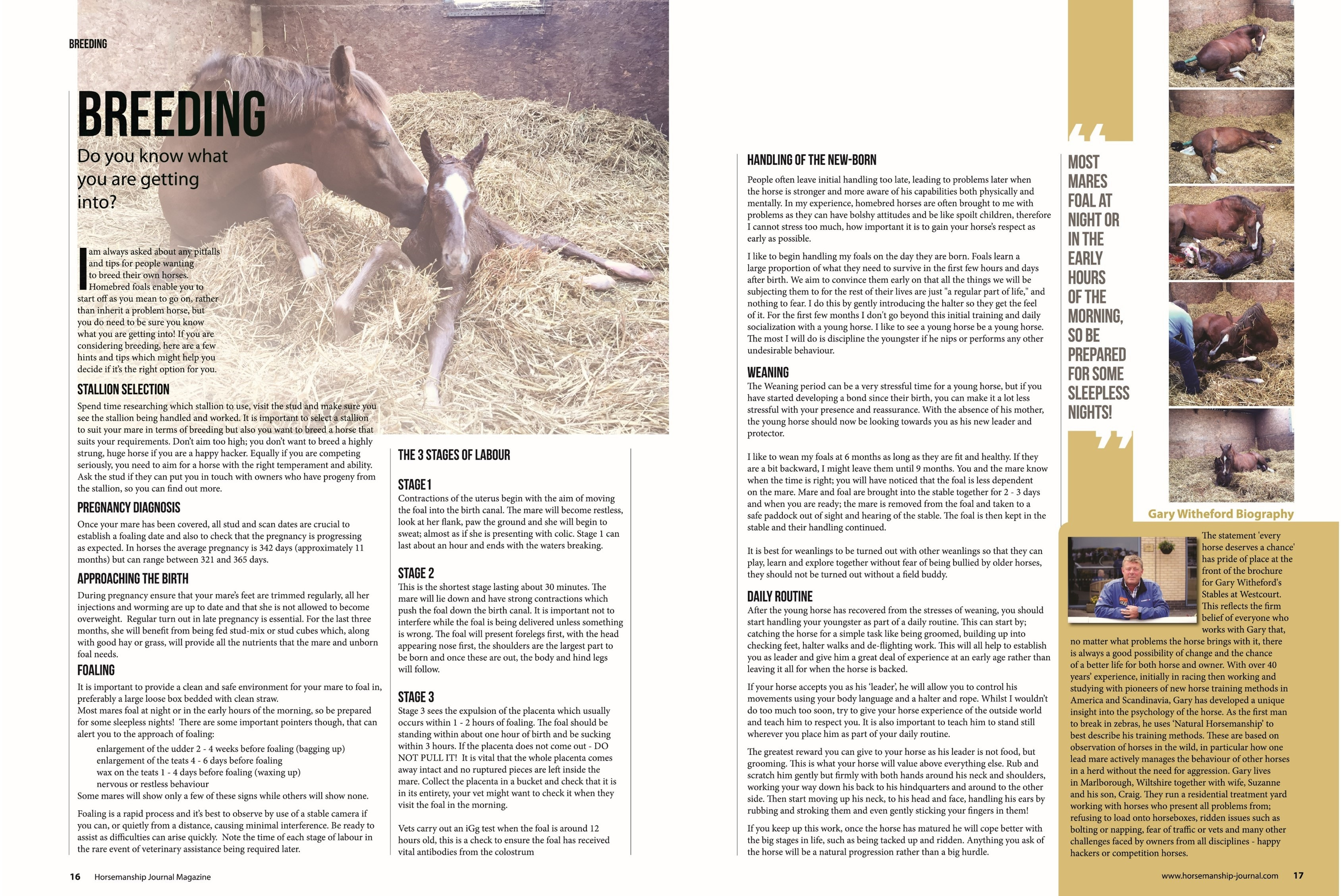 February 2018 - Horsemanship Journal