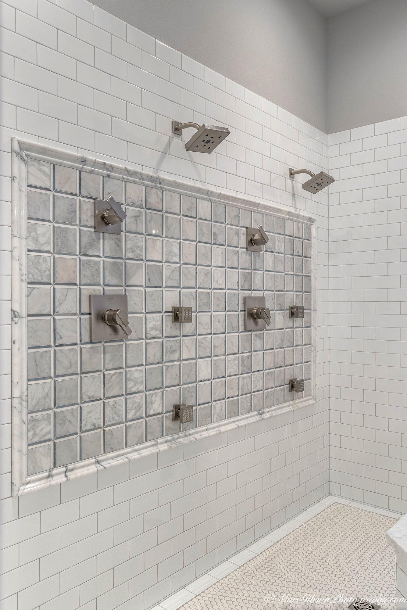 Gray Shower Area