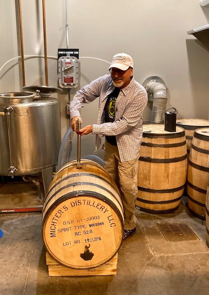 Barrel Filling Station - Michter's Distillery