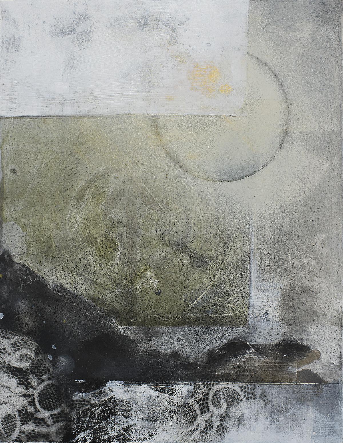 16 Noches oleo, tinta y pigmentos s/madera 45 x 35 cms