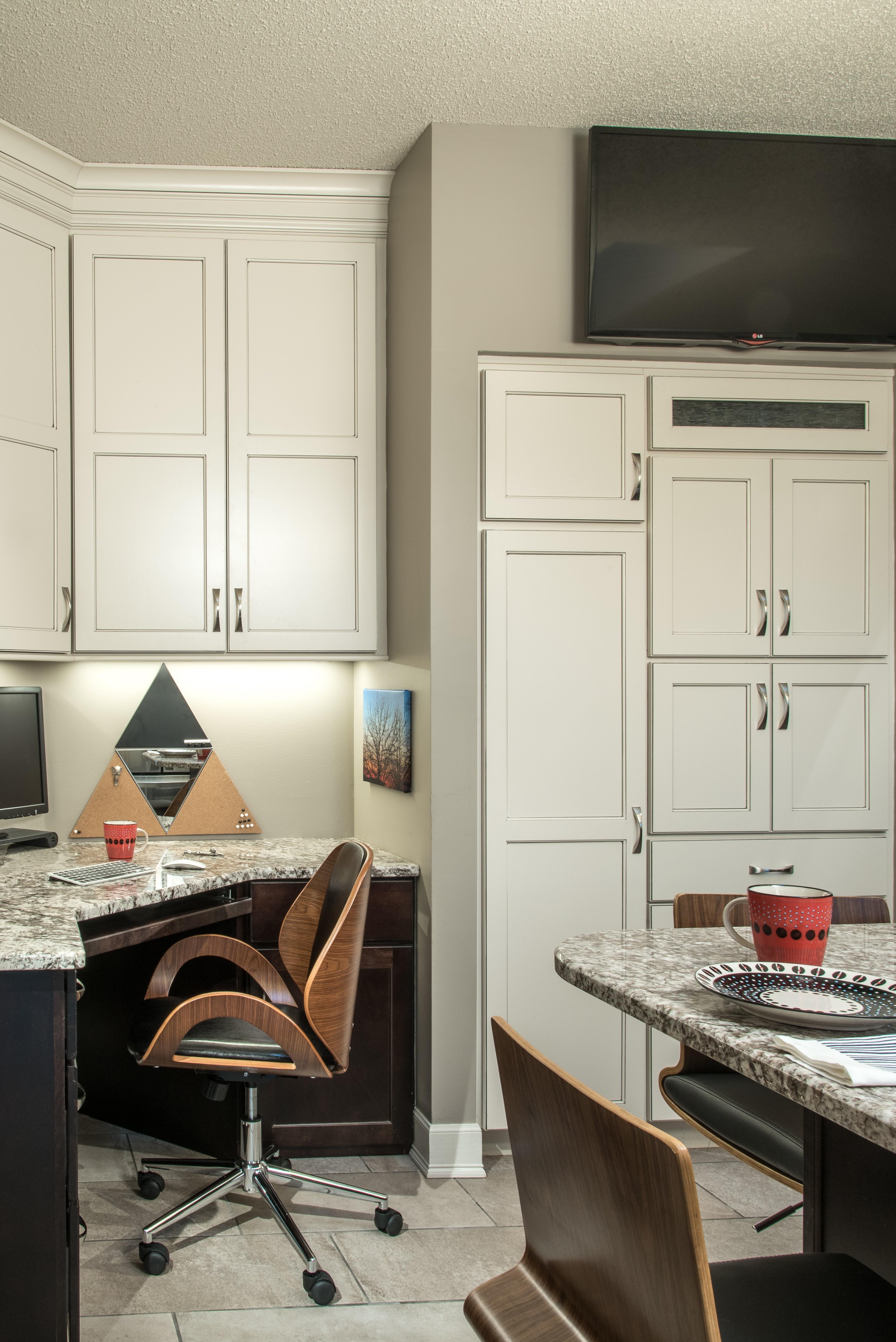Kitchen With Corner Office