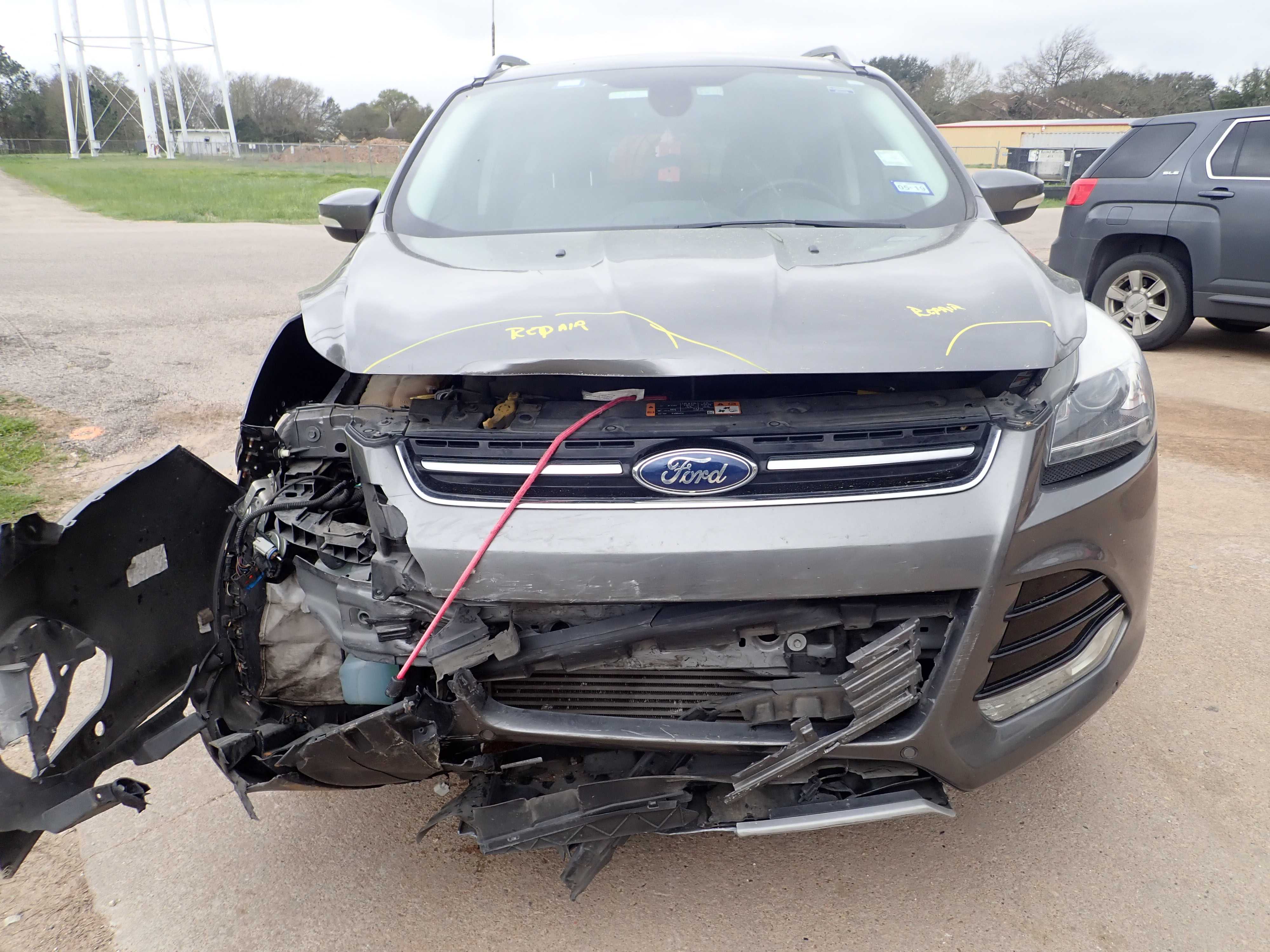 2014 Ford Escape Front End Damage