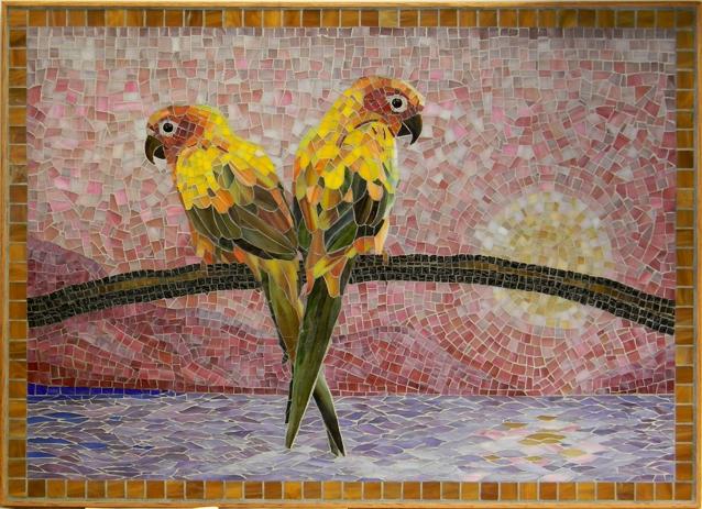"""""""Sunset"""" by Nataliya Guchenia Size - 21""""H X 29""""W $1,900.00"""