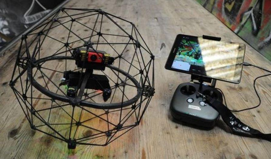 Underground Military Drone