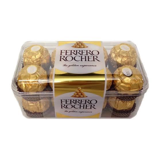 Ferrero de 16 piezas $165.00 pesos