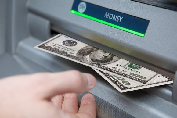 Image result for atm dispensing cash images