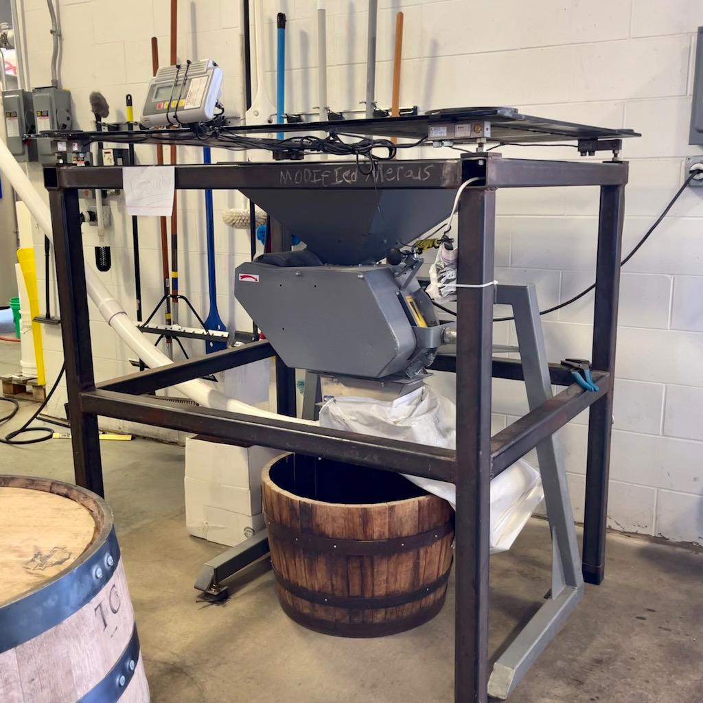 Grain Mill -Grand Traverse Distillery Review Tour
