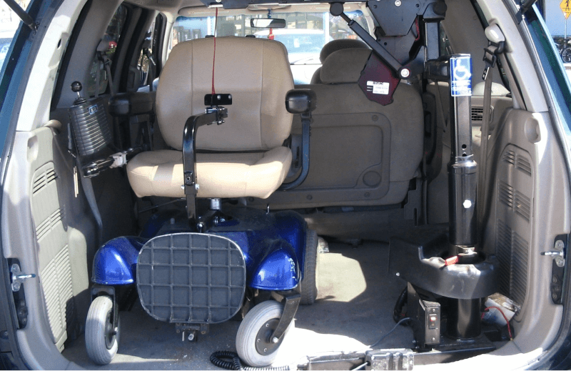 Wheelchair Scooter Lifts for Vans & SUVs in Louisiana