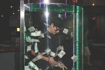Click to see Money Booth Video
