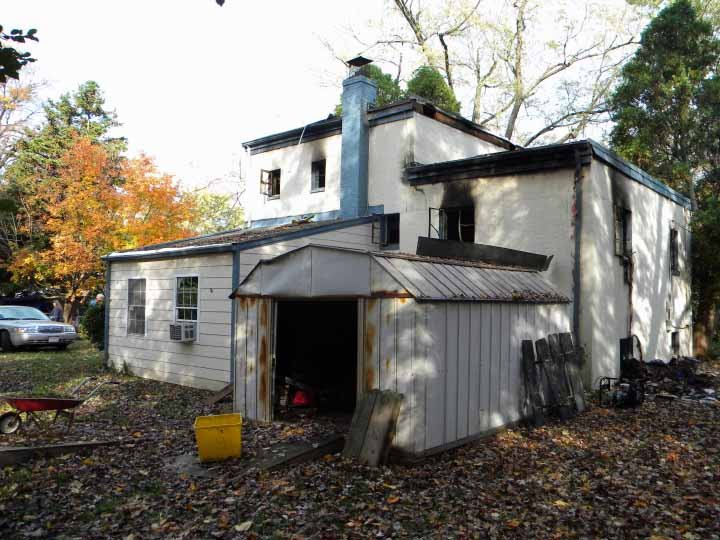 Home Rear Before Restoration