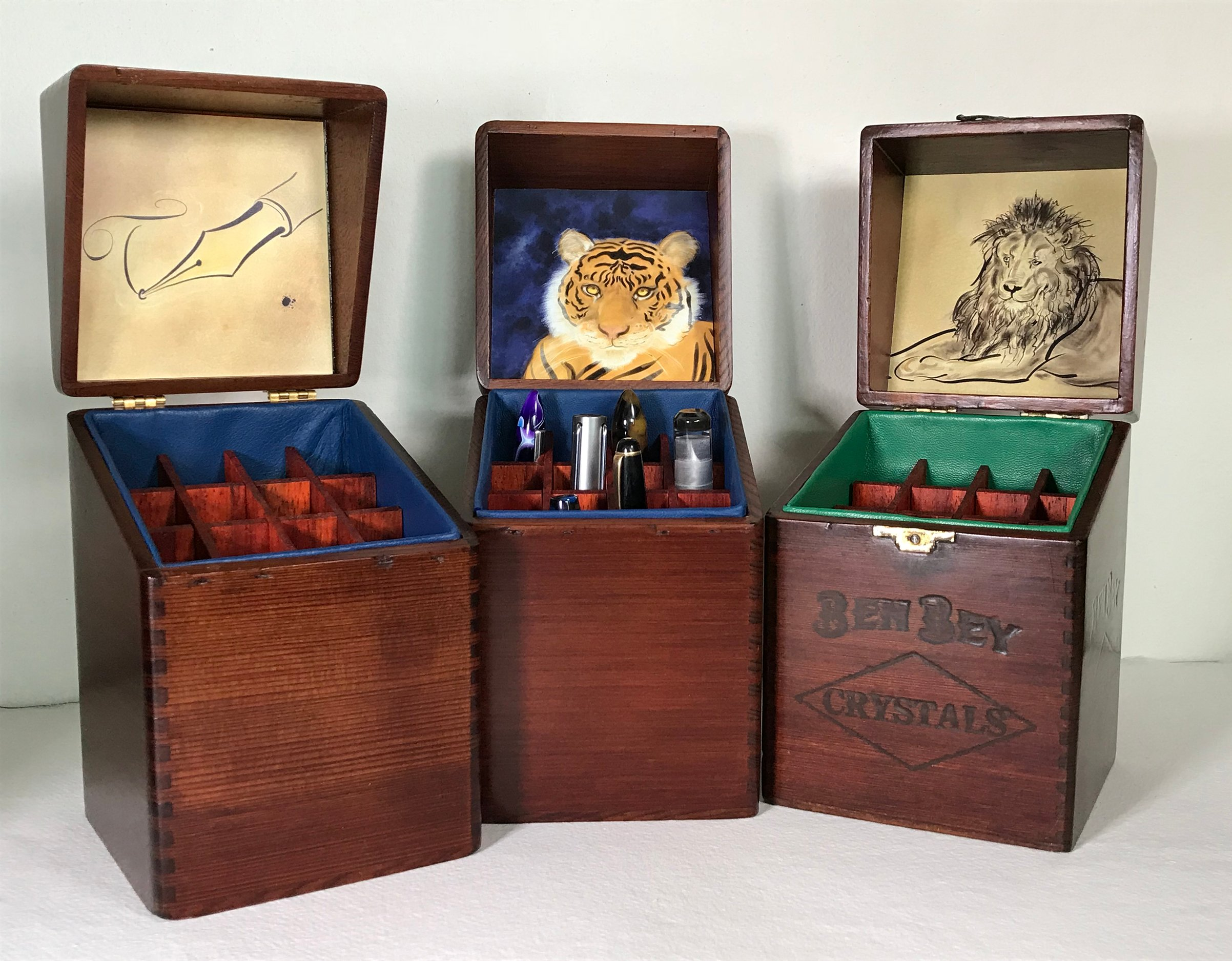 Three Pen Boxes