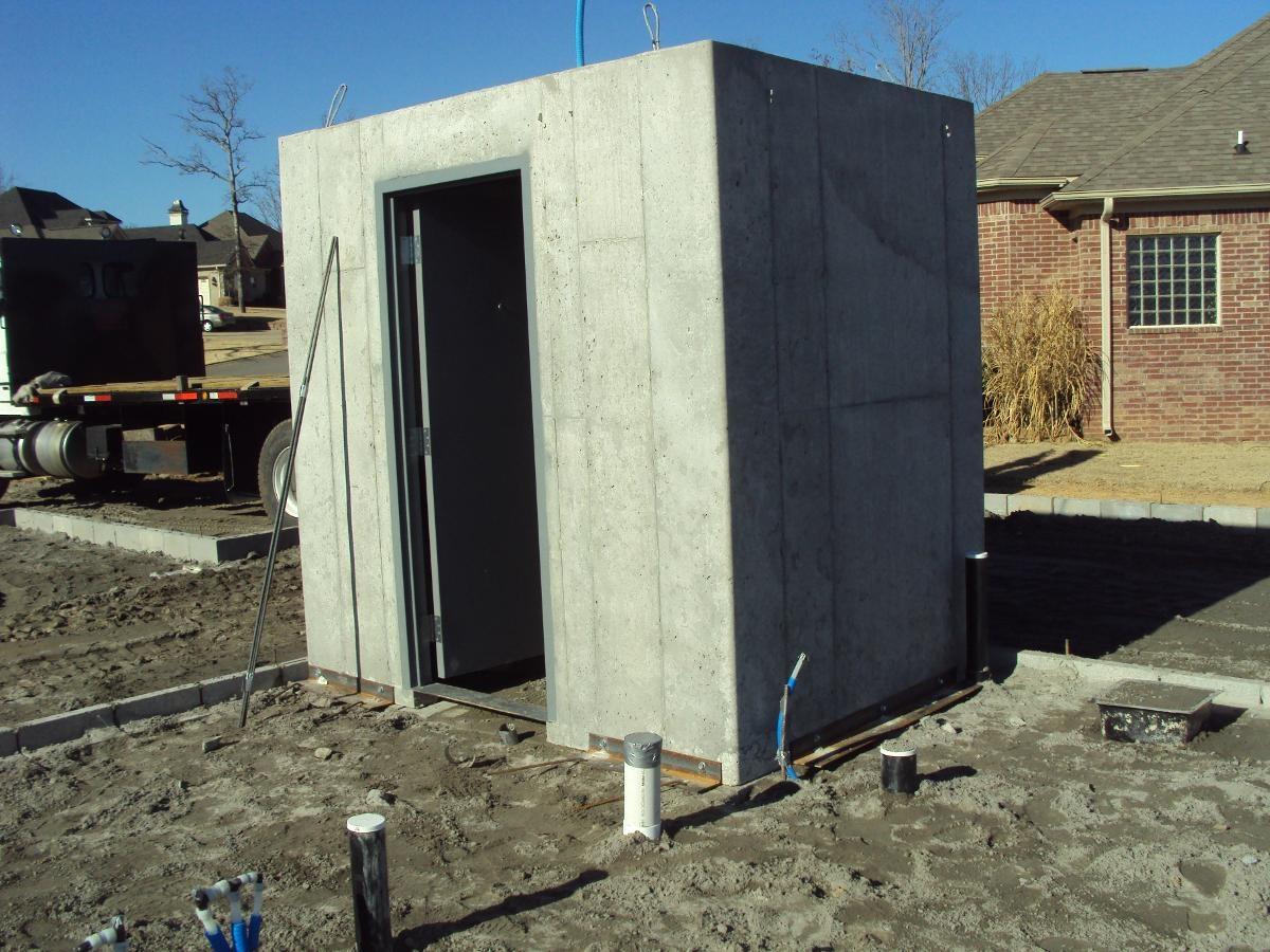 New Tall Door Safe Room