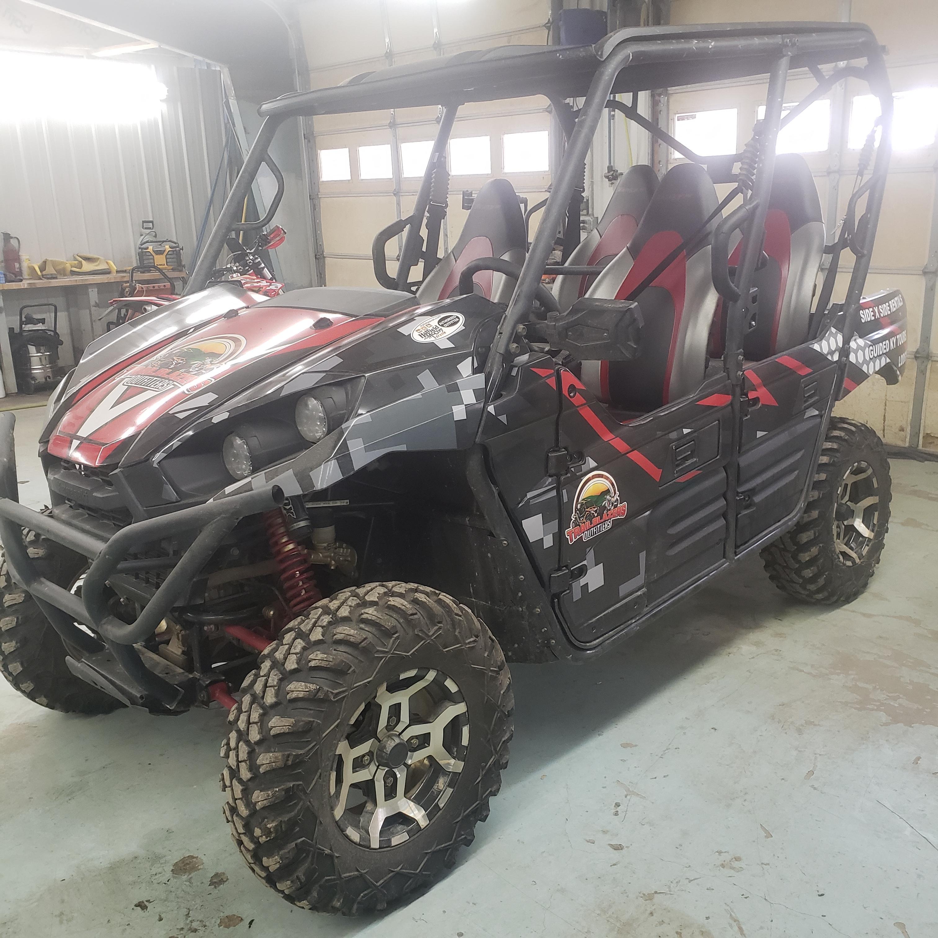 Kawasaki Teryx 800 4 seater