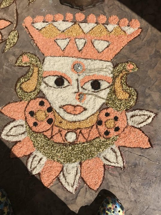 Mata made out of lentils