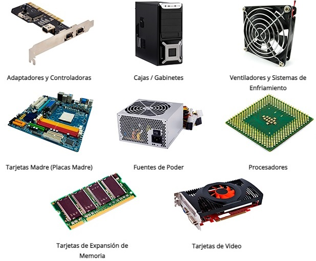 Componentes Informáticos