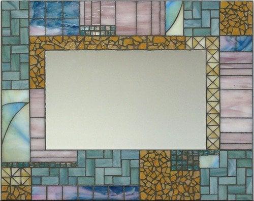"""Mirror"" by Nataliya Guchenia Glass Size - 18""H X 22""W $299.00"