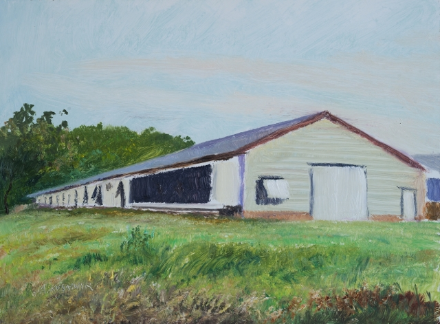41. SOLD Chicken Coops along I-81, 6x8 op