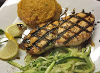 Char Grilled Chicken Breast