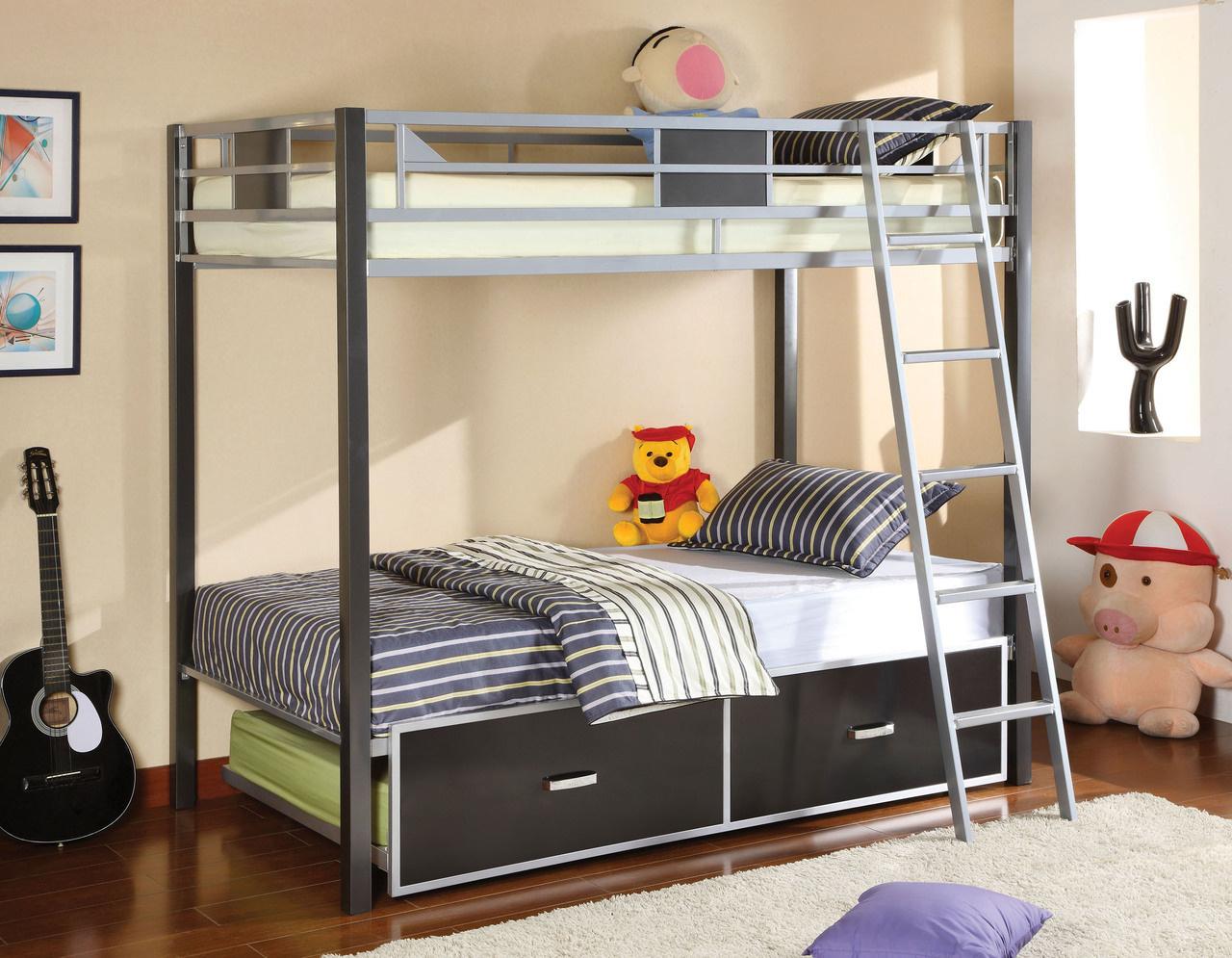 Cletis Bunk Bed (P.O CM-BK1011)