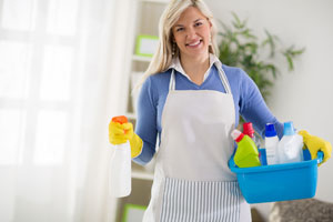 Woman from Cleaning Service