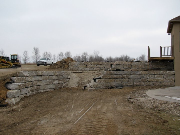 Structural Retaining Wall 5
