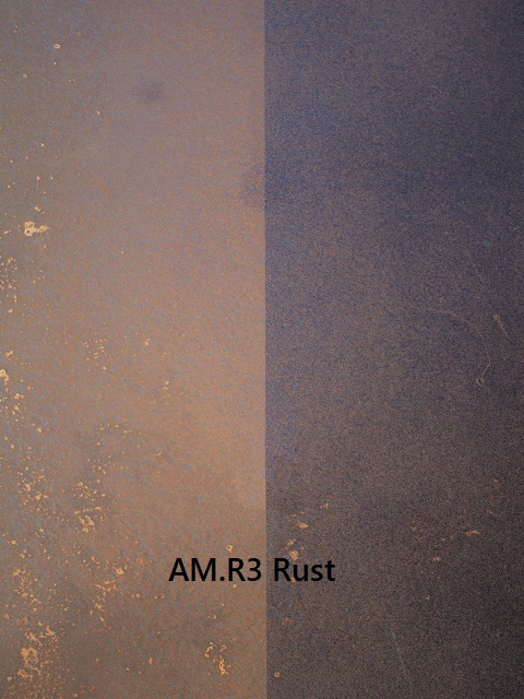Patination AM.R3 Rust Artistic Metals