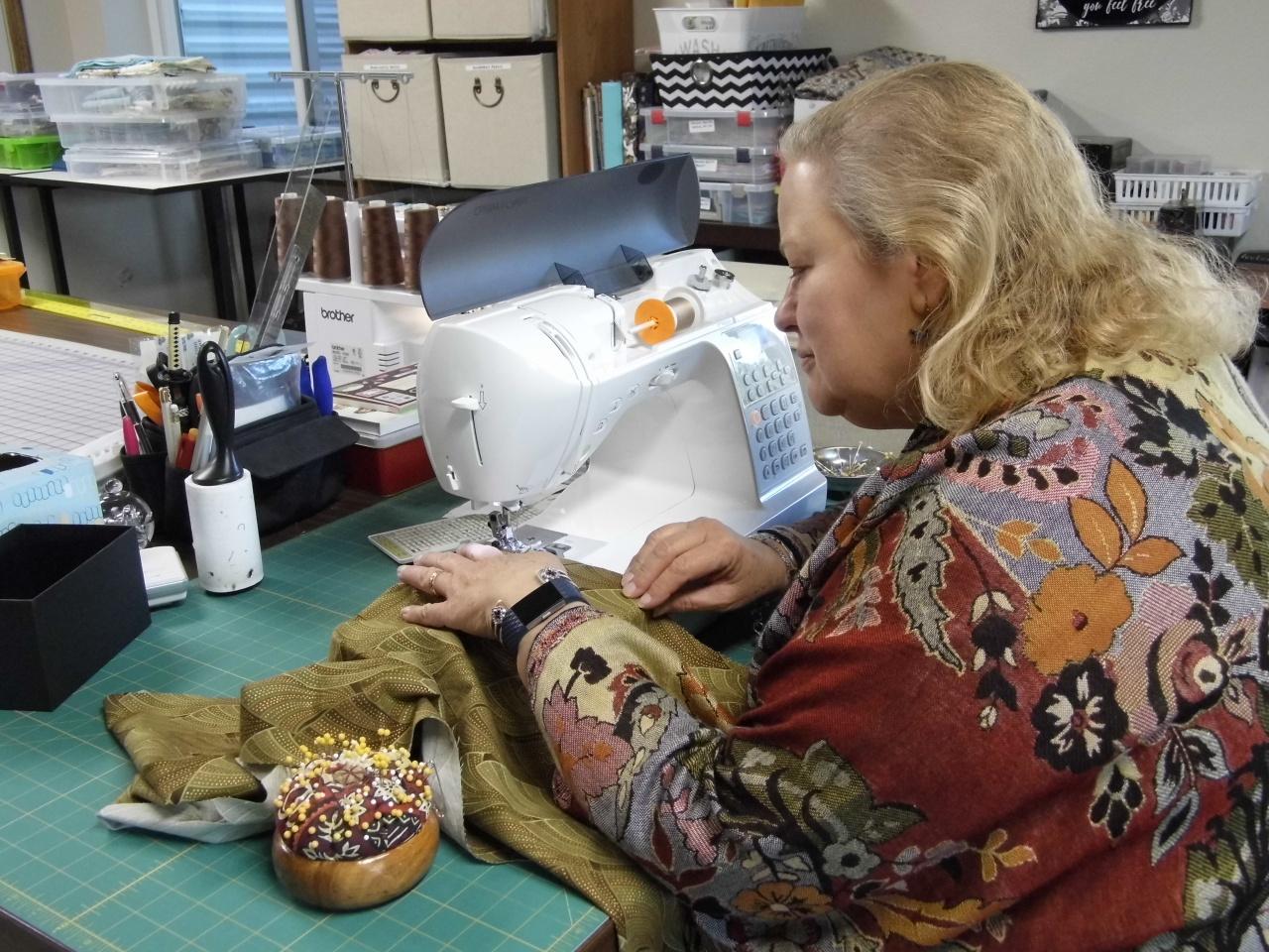 Kimono Sewing