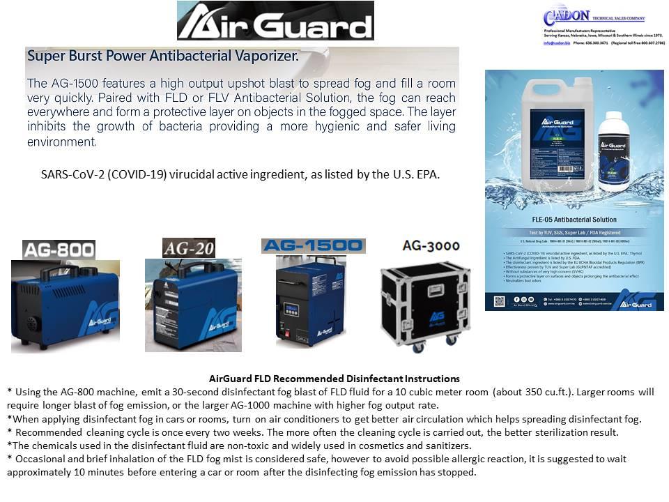 Antari AirGaurd Antibacterial Vaporizer