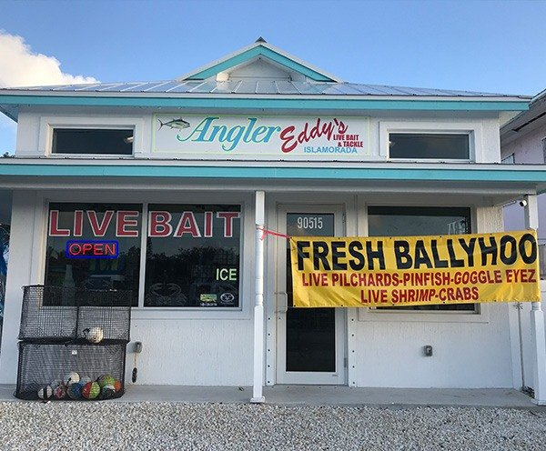 Live Bait and Tackle Shop Front