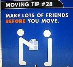 "moving tip cartoon ""make lots of friends before you move'"
