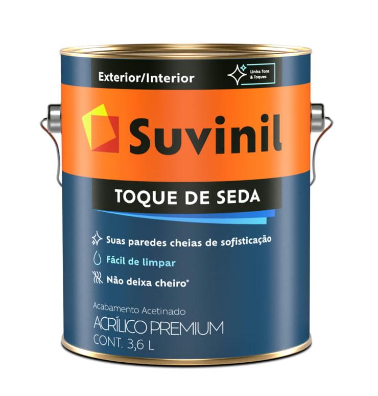 TINTA ACRÍLICA PREMIUM ACETINADA TOQUE DE SEDA