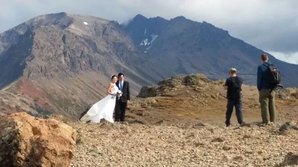 Getting Married on Flattop Mountain!