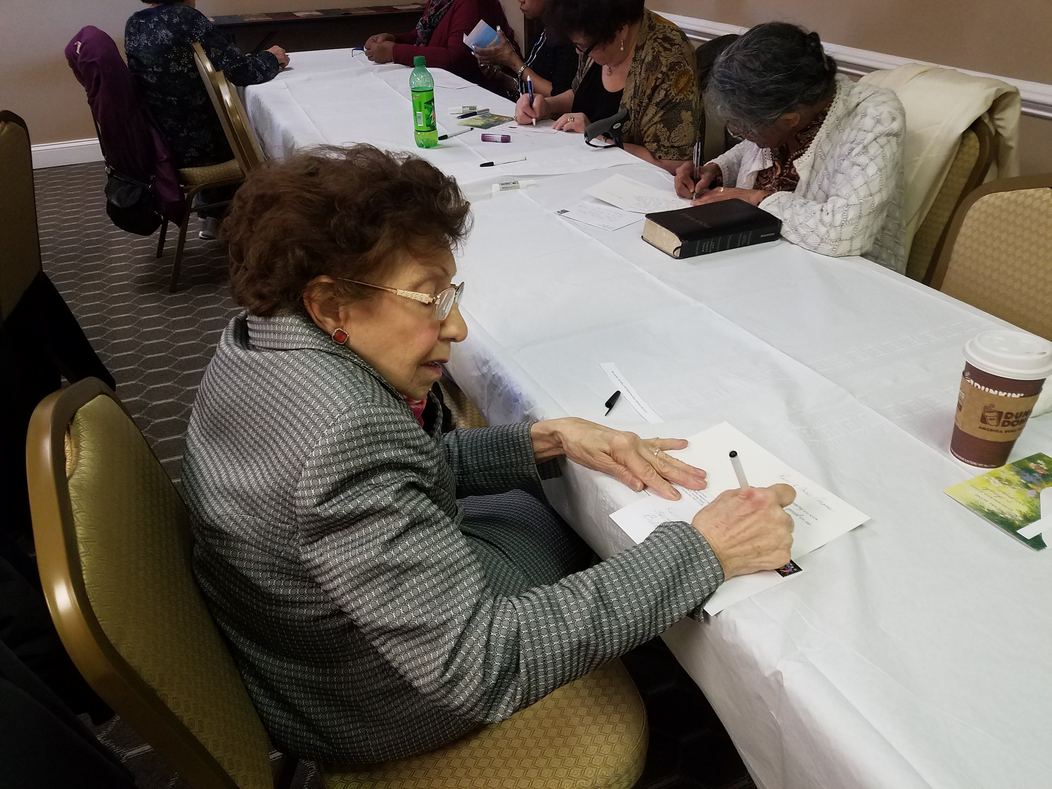 Wonderful letter writing ministry