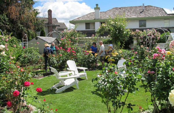 Open Gardens and a Summer Garden Party draw members outdoors for annual celebrations.