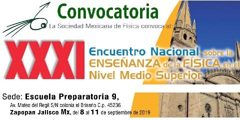 ConvocatoriaXXXI.EnseñanzaFísicaEMS.2019