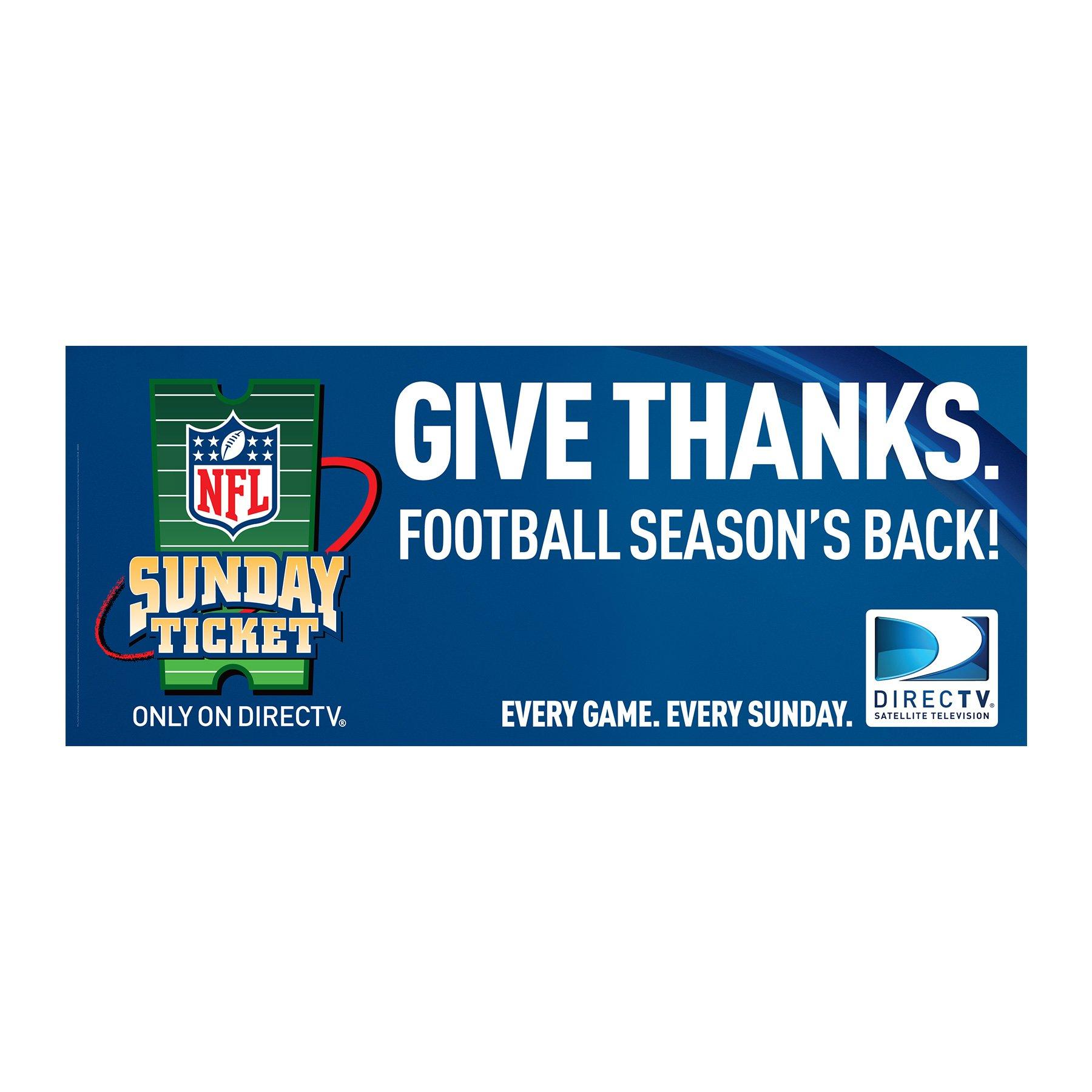 DIRECTV NFL Sunday Ticket Banner