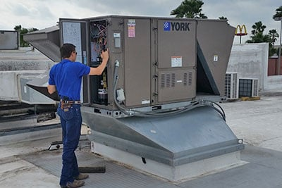 York HVAC Unit
