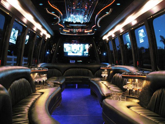Limousine Bus Interior 1