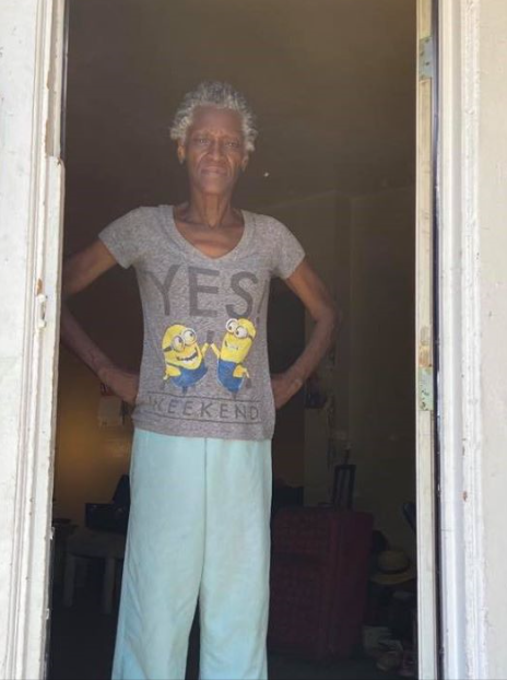"Effie welcomed us in to install an air conditioner in her small, hot apartment. At age 67 with lung cancer, she was having a tough time and was so happy to get more relief than she was with just her small fan. ""I wanna jump up and shout! Thank you Jesus and EnergyCare."" We are so happy to help Effie stay cool in her own home."
