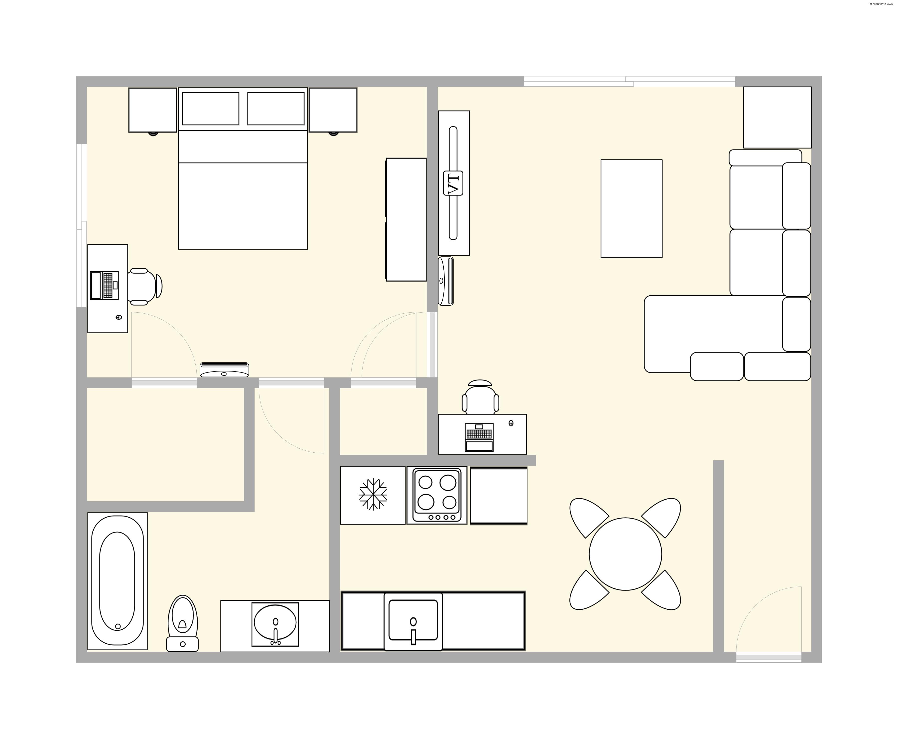 Floorplan (furniture not included)