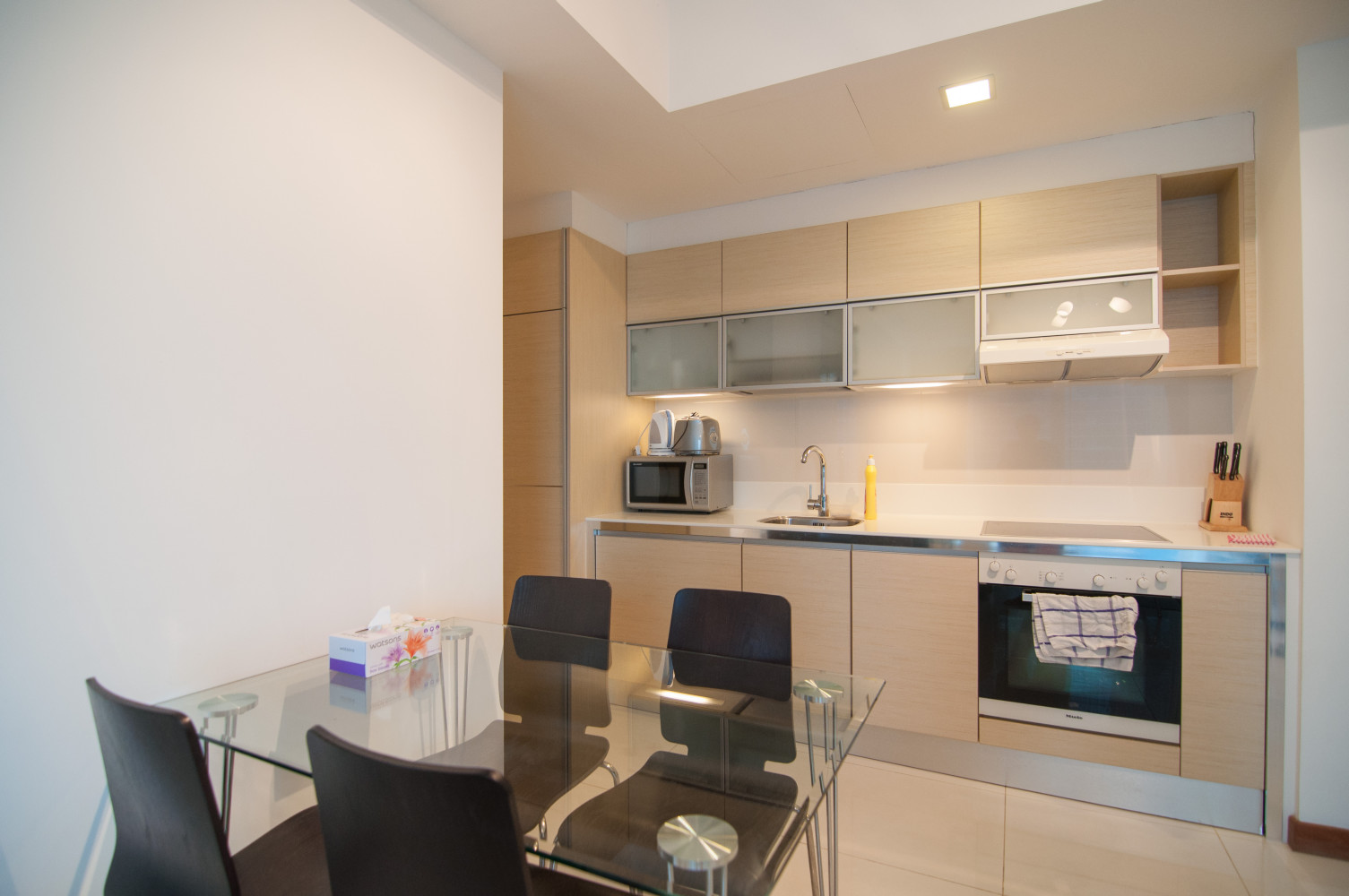 Dining Area of One Bedroom Serviced Apartment at The Sail