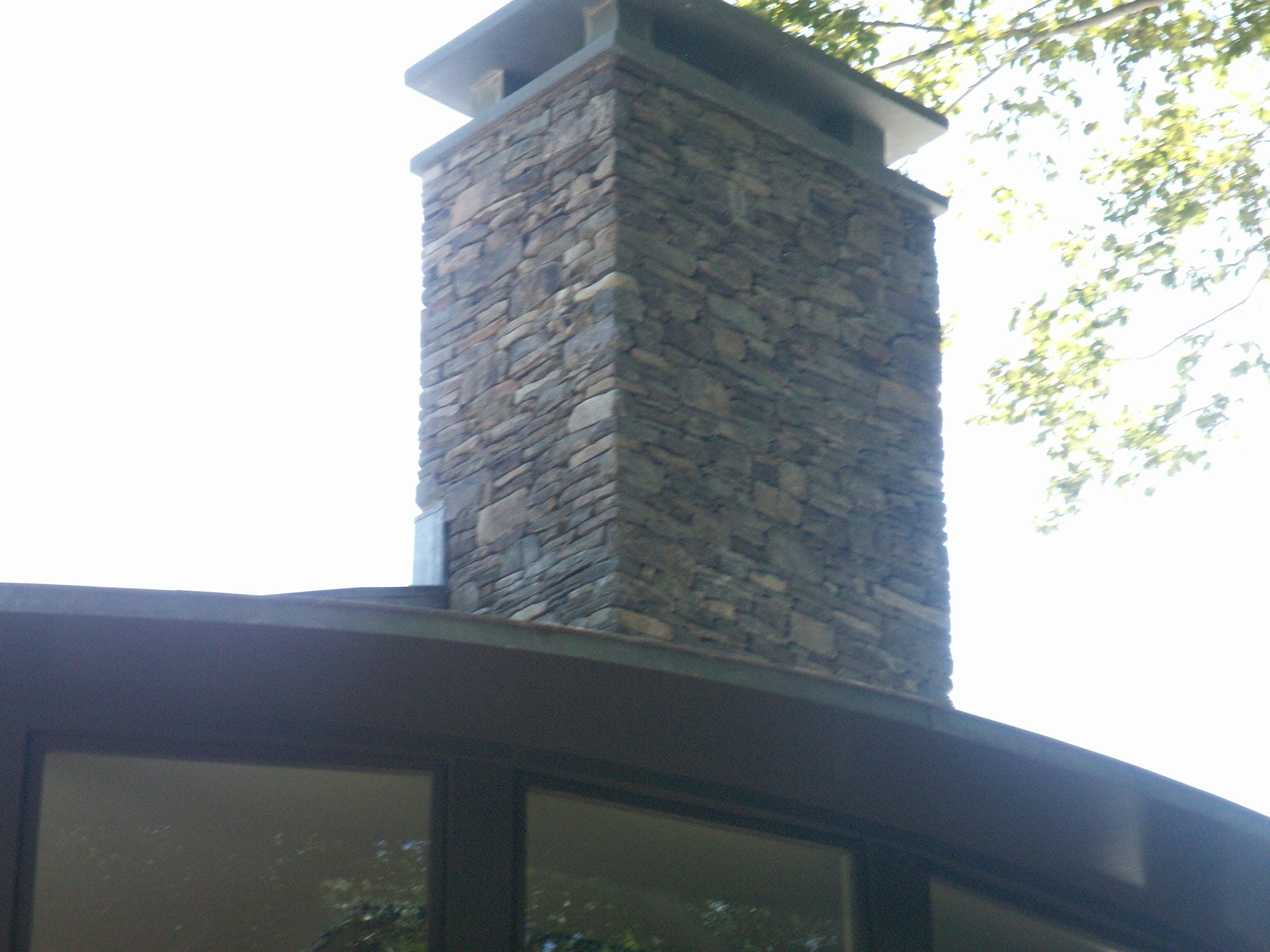 Stone Chimney 2