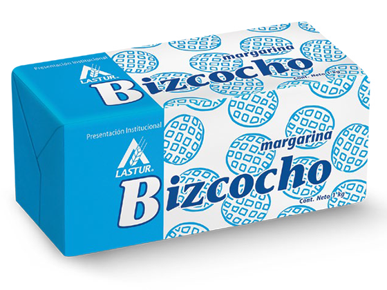91  |  Lastur Bizcocho Caja de 10 kg (10 barras de 1 kg)