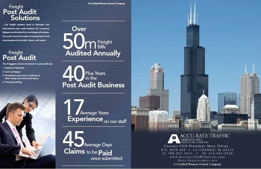 Freight Post-Audit Company Brochure