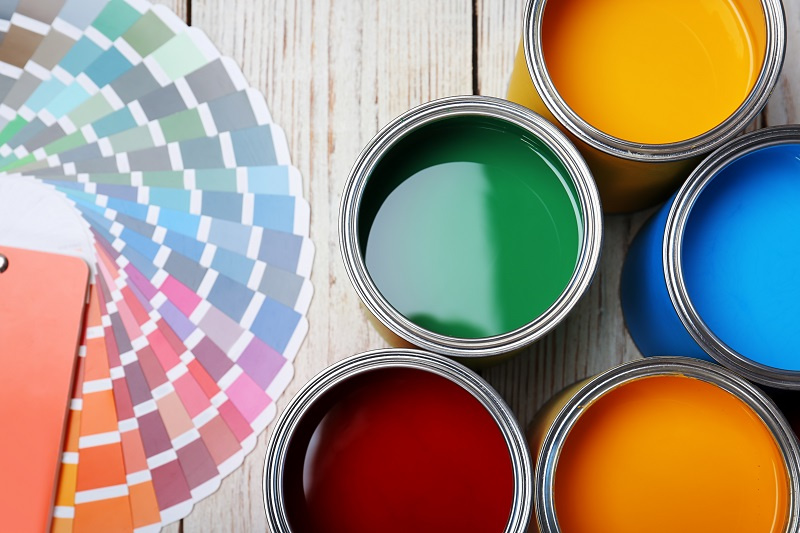 Paint Cans for House Painting in Tempe AZ