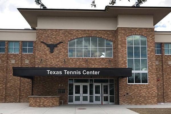 University Of Texas Tennis Center Facade