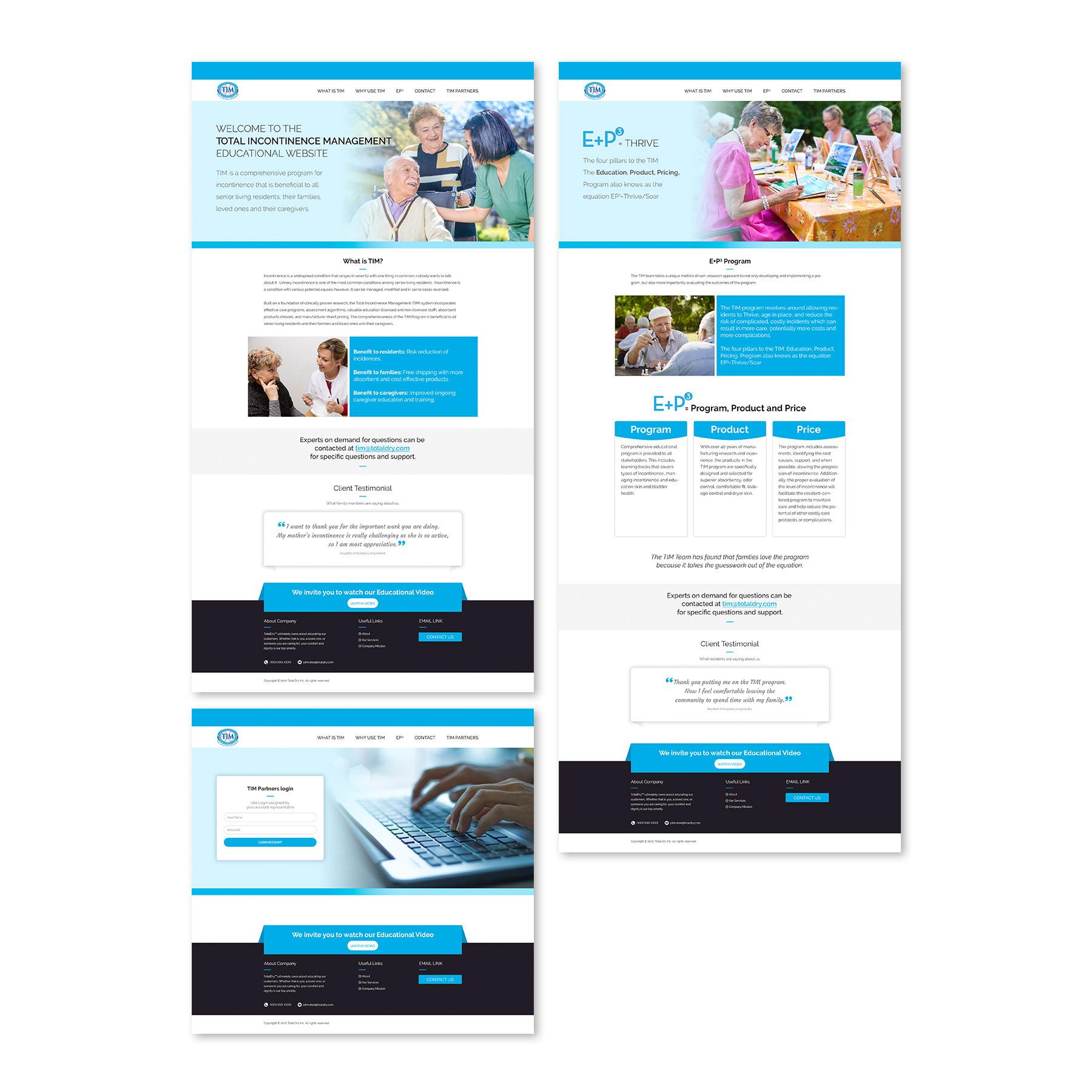 Total Dry Educational Website