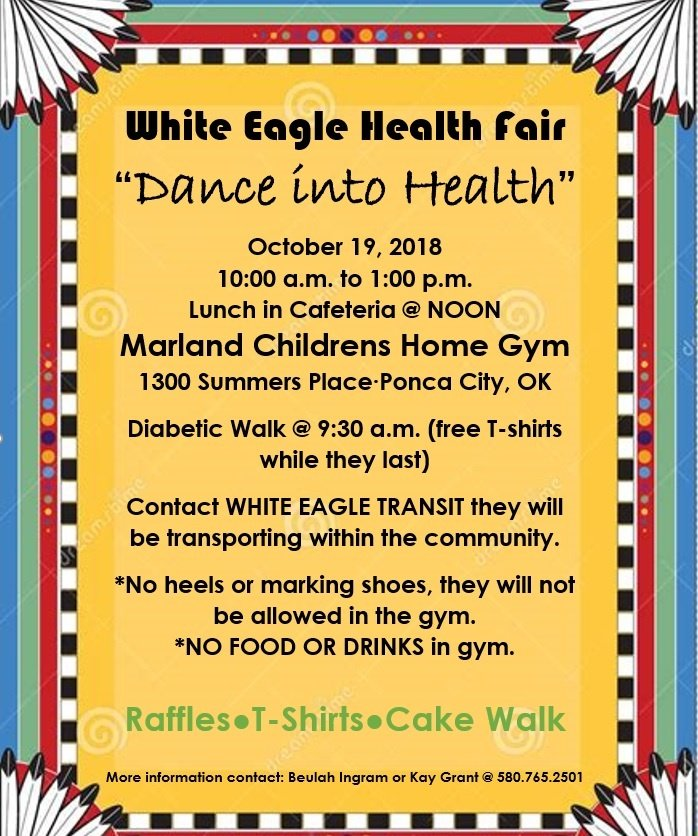 Please, come join us at our Annual Health Fair!